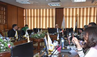 الاجتماع الشهري لمجلس خدمة المجتمع وتنمية البيئة