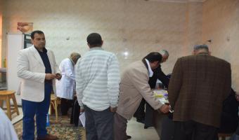 جمعية الرعاية الصحية بجامعتي المنوفية ومدينة السادات تستكمل حملة