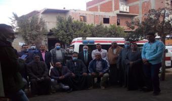 قافلة طبية بشرية مجانية بعزبة سيدى صالح بمركز الشهداء محافظة المنوفية