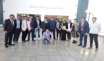 بالصور جامعة مدينة السادات تشارك في مبادرة شبابية للتنمية المجتمعية أطلقتها وزارة الشباب والرياضة