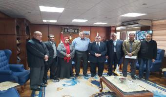 تعيين أعضاء هيئة التدريس بكلية الحاسبات والذكاء الاصطناعي بجامعه مدينة السادات