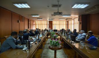 إنعقاد إجتماع لجنة المنشآت والمختبرات والأجهزة العلمية