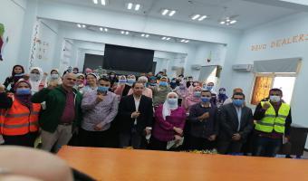 بالصور فاعليات صندوق مكافحة وعلاج الادمان بجامعة مدينة السادات