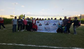 كلية التربية تفوز على التجارة في افتتاحية منافسات الكرة الطائرة بالدوري الرياضي بالجامعة