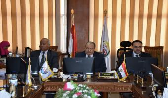 الموافقة على إنشاء وحدة لإدارة المخاطر بجامعة مدينة السادات