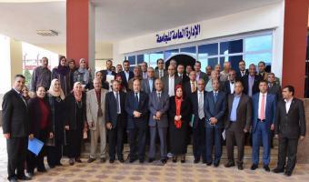 التوصية بمنح شهادة الأيزو 9001/2015 لجامعة مدينة السادات