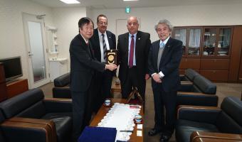 جامعة مدينة السادات توقع اتفاقية ايفاد ثلاث بعثات دكتوراة سنويا ممولة بالكامل للدراسة والمنح من جامعة اوساكا اليابانية