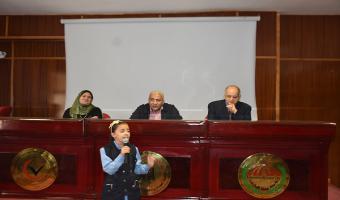 بالصور جامعة مدينة السادات تحتفل بيوم اليتيم