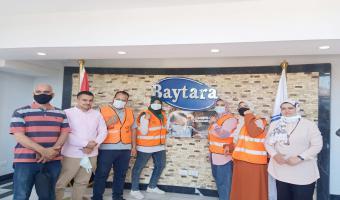 إستمرار أعمال الحملة التوعوية لمخاطر وعلاج التعاطي بمصانع مدينة السادات