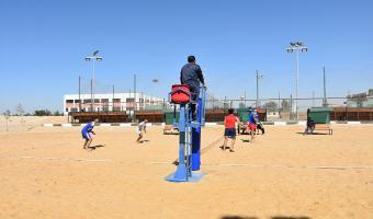 حصول جامعة مدينة السادات على المركز الرابع فى الكرة الطائرة بمهرجان الأسر السابع بجامعة قناة السويس