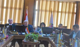 انعقاد اجتماع لجنة المختبرات والأجهزة العلمية بجامعة مدينة السادات