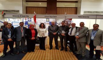 جامعة مدينة السادات تشارك فى ملتقى الكويت الأول للتعليم تحت شعار التعليم مسيرة حياة