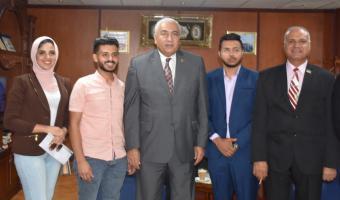 جامعة مدينة السادات توقع بروتوكول تعاون مع المؤسسة العربية للاستشارات والتدريب
