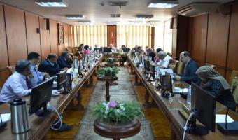 اجتماع مجلس إدارة مركز ضمان الجودة والتطوير المستمر بالجامعة