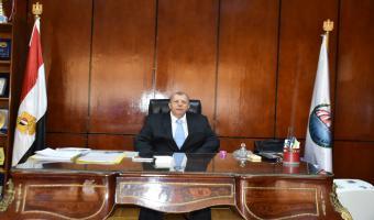الدكتور شريف محمد علي يعقد أول اجتماعاته مع مديري إدارات رعاية الطلاب وممثلي إتحاد الطلبة