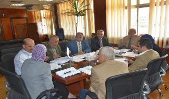 بالصور .. إجتماع مجلس شئون التعليم والطلاب الدورى الشهرى لبحث جدول أعماله