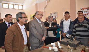 بالصور بدء الدورة التدريبة الثانية الخاصة بمبادرة صنايعية مصر