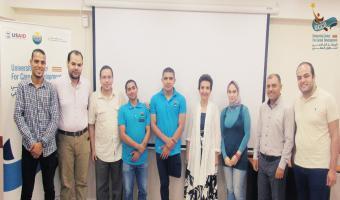 مركز التطوير المهني بالجامعة يعقد ثاني ورشة عمل الخاصة بدمج طلاب الجامعة من ذوي الاحتياجات الخاصة