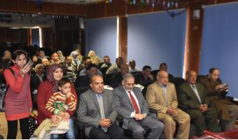 جامعة مدينة السادات تكرم الأستاذ نبيل الشونى والمهندس أحمد عبدالعزيز لبلوغهم سن المعاش