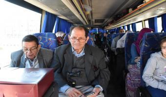 اليوم : سفر بعثة جامعة مدينة السادات  للمشاركة فى المؤتمر العلمى التاسع لكلية الطب البيطرى