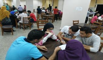 جامعة مدينة السادات تشارك في الملتقى الأول للأنشطة الطلابية لجامعات وسط الدلتا بطنطا