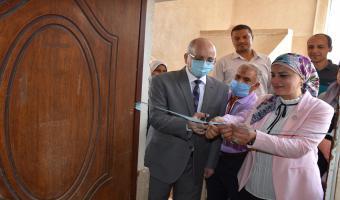 افتتاح مركز دعم وتسويق الابتكارات التابع لقطاع خدمة المجتمع وتنمية البيئة بجامعة مدينة السادات